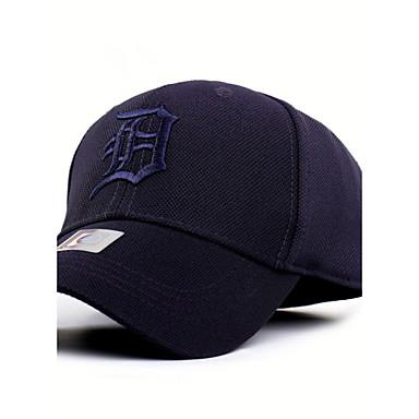 Chapeau Homme Unisexe Séchage rapide Résistant aux ultraviolets pour Base ball Lettre et chiffre Spandex Eté Automne / Elastique