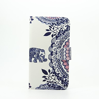 Case For LG LG G5 LG Case Card Holder Wallet with Stand Flip Pattern Full Body Cases Elephant Hard PU Leather for