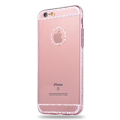 용 아이폰6케이스 / 아이폰6플러스 케이스 크리스탈 / 투명 케이스 뒷면 커버 케이스 단색 소프트 TPU iPhone 6s Plus/6 Plus / iPhone 6s/6