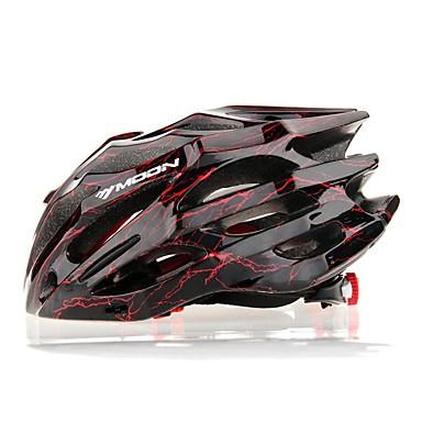 MOON Bisiklet kaskı 27 Delikler Bisiklet Half Shell PC EPS Yol Bisikletçiliği Eğlence Bisikletçiliği Bisiklete biniciliği / Bisiklet Dağ