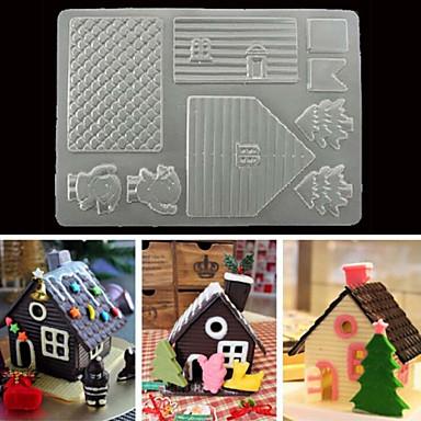 베이킹 몰드 초콜렛 쿠키 플라스틱 크리스마스 3D