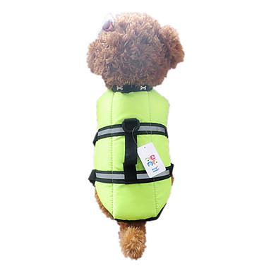 Σκύλος Veste Σωσίβιο Ρούχα για σκύλους Αδιάβροχη Πορτοκαλί Πράσινο Στολές Για κατοικίδια
