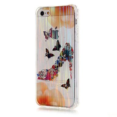 용 아이폰5케이스 크리스탈 / 투명 케이스 뒷면 커버 케이스 섹시 레이디 소프트 TPU iPhone SE/5s/5