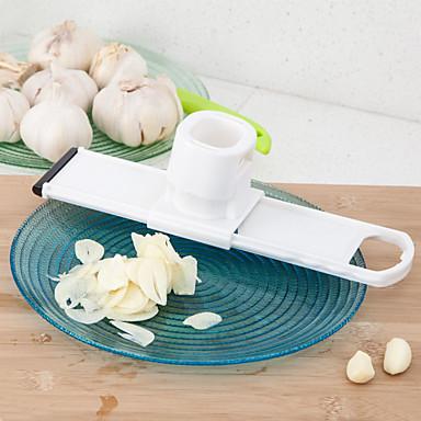 1 szt Czosnek Młynek For warzyw Plastik Przyjazne dla środowiska Kreatywny gadżet kuchenny Zabawne