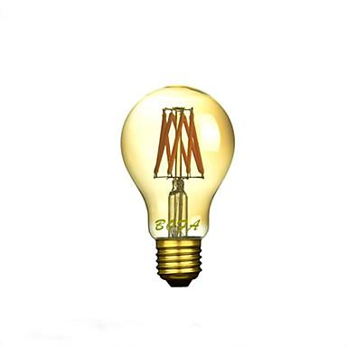 1 db. NO E26 / E26/E27 6W 8 COB 200-500 lm Meleg fehér A60(A19) Állítható / Dekoratív LED gömbbúrás izzók AC 220-240 V