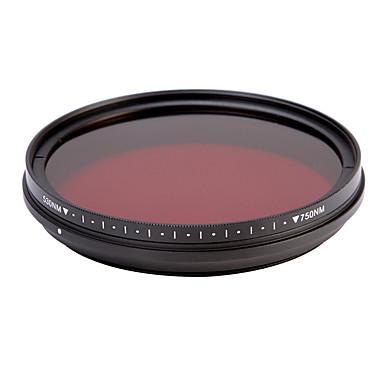 fotga® all-in-one állítható 530nm-750nm infravörös ir át röntgen objektív szűrő 62mm
