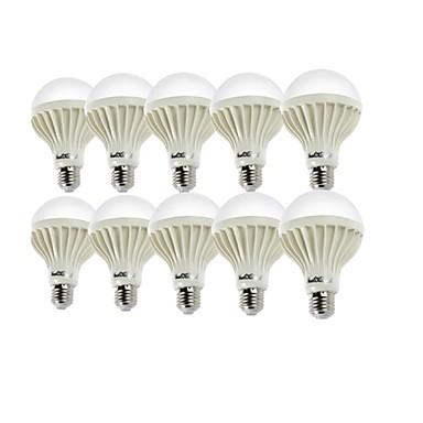 3w e26 / e27 levou globo lâmpadas a50 6 smd 5630 200-250lm branco quente branco frio 6000 / 3000k decorativo ac 220-240v