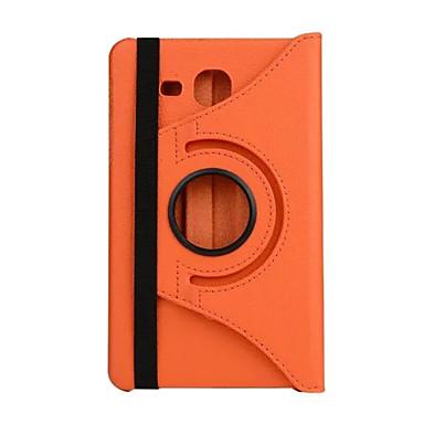 Mert Samsung Galaxy tok Állvánnyal / Flip Case Teljes védelem Case Egyszínű Műbőr Samsung Tab 4 7.0