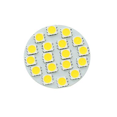 SENCART 1st 5 W LED-spotlights 450-480 lm G4 MR11 18 LED-pärlor SMD 5730 Bimbar Varmvit Kallvit Naturlig vit 12 V / 1 st / RoHs