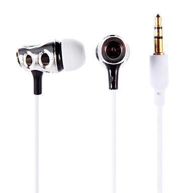 3,5 mm-es sztereó fülbe helyezhető fülhallgató fülhallgató fejhallgató px-618 iPod / iPad / iPhone / mp3