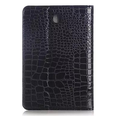 Case Kompatibilitás Samsung Galaxy Tab 9,7 Samsung Galaxy tok Kártyatartó Pénztárca Állvánnyal Flip Dombornyomott Héjtok Mértani formák