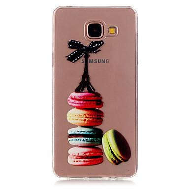 케이스 제품 Samsung Galaxy 삼성 갤럭시 케이스 투명 패턴 뒷면 커버 카툰 TPU 용 A5(2016) A3(2016)