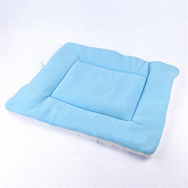Γάτα Σκύλος Κρεβάτια Κατοικίδια Χαλάκια & Μαξιλαράκια Μονόχρωμο Moale Πορτοκαλί Καφέ Πράσινο Μπλε Ροζ Για κατοικίδια