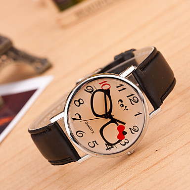 Pentru femei Ceas de Mână Ceas Elegant Ceas La Modă Ceas Sport Chineză Quartz Piele Autentică Bandă Charm Creative Casual Multicolor