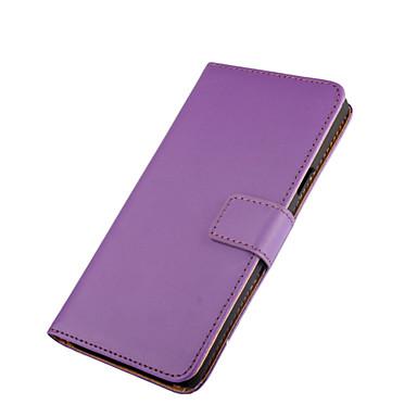 Mert Nokia tok Pénztárca / Kártyatartó / Állvánnyal Case Teljes védelem Case Egyszínű Kemény Műbőr Nokia Nokia Lumia 950