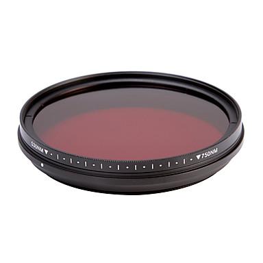 fotga® all-in-one állítható 530nm-750nm infravörös ir át röntgen objektív szűrő 58mm