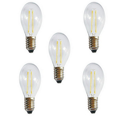 HRY 5pcs 3000/6500 lm E26/E27 LED Filament Bulbs A60(A19) 2 leds High Power LED Decorative Warm White Cold White