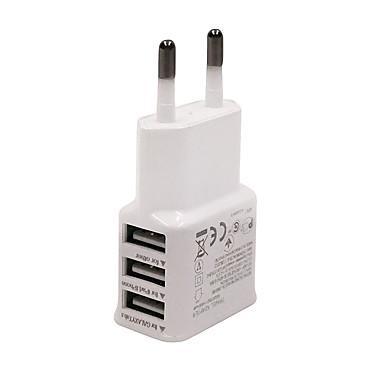 Chargeur Secteur / Chargeur Portable Chargeur USB pour téléphone Prise UE Multiport 3 Ports USB