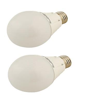 E26/E27 LED 글로브 전구 G45 24 LED가 SMD 2835 장식 따뜻한 화이트 450lm 3500K AC 220-240 AC 110-130V