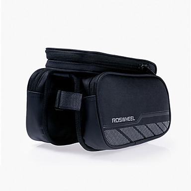 ROSWHEEL Váztáska Cell Phone Bag 5.5 hüvelyk Vízálló cipzár Viselhető Párásodás gátló Ütésálló Érintőképernyő Kerékpározás mert Iphone 8