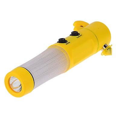 ziqiao autó biztonsági kalapács LED zseblámpa biztonsági öv vágó üveg megszakító autó rescure eszköz
