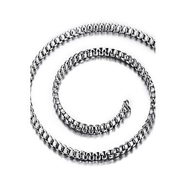 Női Alkalmi Divat Rövid nyakláncok Titanium Acél Rövid nyakláncok , Napi Hétköznapi
