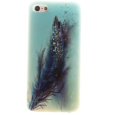 Mert iPhone 5 tok tokok IMD Hátlap Case Toll Puha TPU mert Apple iPhone SE/5s iPhone 5