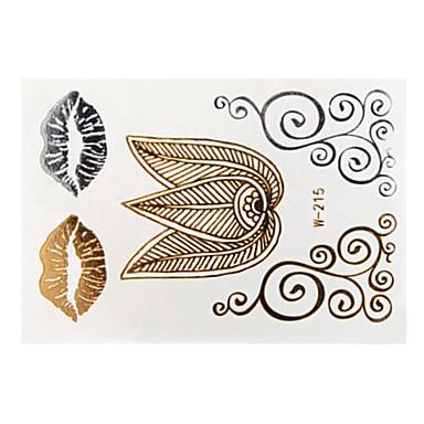 -Airbrush Tattoo Stencils--Papír--Női Felnőtt