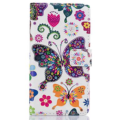 케이스 제품 Huawei P9 Lite P9 화웨이 케이스 지갑 카드 홀더 스탠드 풀 바디 버터플라이 하드 인조 가죽 용 화웨이 P9 화웨이 P9 라이트