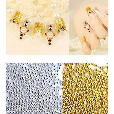 1bag Nail Art dekoráció strasszos gyöngy smink Kozmetika Nail Art Design