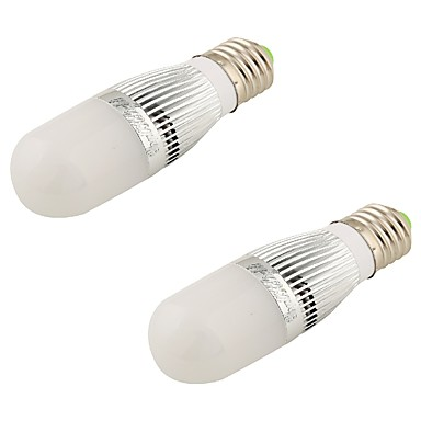 5W E26/E27 LED 글로브 전구 T 28 SMD 2835 480 lm 따뜻한 화이트 장식 AC 220-240 / AC 110-130 V 2개
