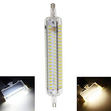 800 lm R7S LED 콘 조명 T 152 LED가 SMD 4014 방수 장식 따뜻한 화이트 차가운 화이트 AC 220-240V
