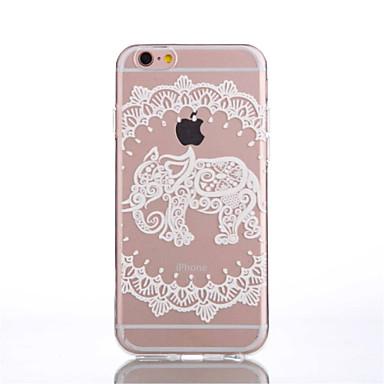 용 아이폰6케이스 / 아이폰6플러스 케이스 투명 / 패턴 케이스 뒷면 커버 케이스 레이스 디자인 소프트 TPU iPhone 6s Plus/6 Plus / iPhone 6s/6