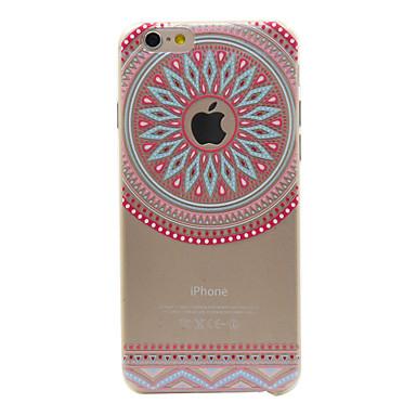 케이스 제품 iPhone 6s Plus/6 Plus iPhone 6s/6 Apple iPhone 6 iPhone 6 Plus 투명 패턴 뒷면 커버 만다라 소프트 TPU 용 iPhone 6s Plus iPhone 6 Plus iPhone 6s