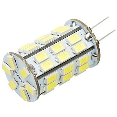 4W G4 LED Bi-pin 조명 T 42 LED가 SMD 5630 장식 따뜻한 화이트 차가운 화이트 레드 옐로 300-350lm 3000-3500  6000-6500K DC 12V