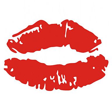 seksi dudaklar araba sticker
