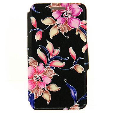 용 아이폰6케이스 / 아이폰6플러스 케이스 카드 홀더 / 크리스탈 / 스탠드 케이스 풀 바디 케이스 꽃장식 하드 인조 가죽 Apple iPhone 6s Plus/6 Plus / iPhone 6s/6 / iPhone SE/5s/5