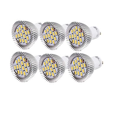 YouOKLight 6W 450-500 lm GU10 Lâmpadas de Foco de LED R63 15 leds SMD 5630 Decorativa Branco Quente Branco Frio AC 110-130V AC 220-240V