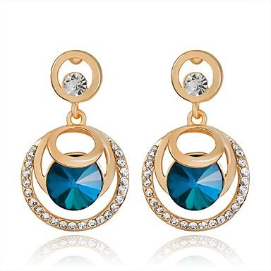 Dames Druppel oorbellen - Modieus Goud Schermkleur oorbellen Voor Dagelijks
