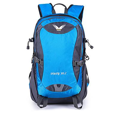 38L hátizsák / Vízálló Dry Bag - Vízálló, 3 az 1- Kempingezés és túrázás Fekete, Narancssárga, Kék