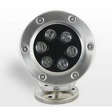 6W Vízalatti világítás 500 lm Meleg fehér SMD Vízálló AC 24 V 1 db