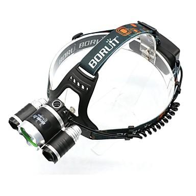 LED zseblámpák Fejlámpák Kerékpár világítás Lámpások & Kempinglámpák Kerékpár első lámpa Kerékpár hátsó lámpa Töltők LED Cree XM-L T6