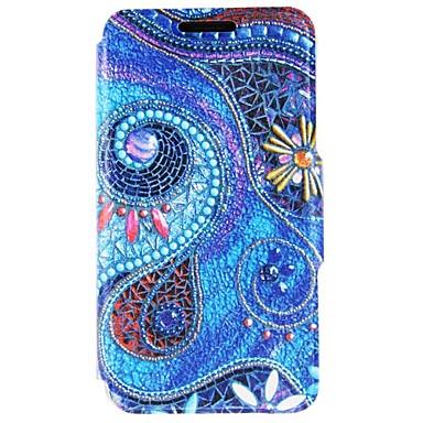 용 아이폰6케이스 / 아이폰6플러스 케이스 스탠드 / 플립 / 패턴 케이스 풀 바디 케이스 기하학 패턴 하드 인조 가죽 Apple아이폰 7 플러스 / 아이폰 (7) / iPhone 6s Plus/6 Plus / iPhone 6s/6 /