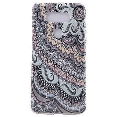 Mert LG tok Minta Case Hátlap Case Vonalak / hullámok Puha TPU LG LG G5