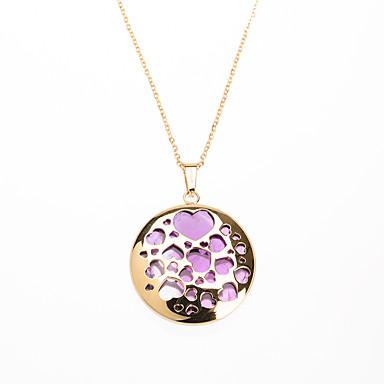 Γυναικεία Ανοξείδωτο Ατσάλι Επιχρυσωμένο Heart Shape Μοντέρνα Ασημί Χρυσαφί Κοσμήματα 1pc