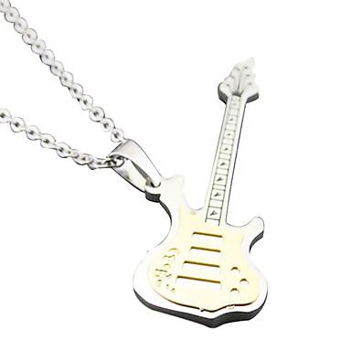 gitár szerelmesei nyaklánc - arany színű kis rész