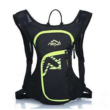 12lLKerékpár Hátizsák hátizsák mert Szabadidős sport Utazás Futás Sportska torba Vízálló Viselhető Fényvisszaverő csíkok Többfunkciós