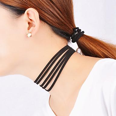 Női Személyre szabott Vintage Bájos Party Alkalmi Divat Többrétegű Rövid nyakláncok Rakott nyakláncok Bolyhos pamutszövet Rövid