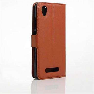 케이스 제품 ZTE ZTE케이스 카드 홀더 스탠드 플립 전체 바디 케이스 한 색상 하드 PU 가죽 용 ZTE Blade A452