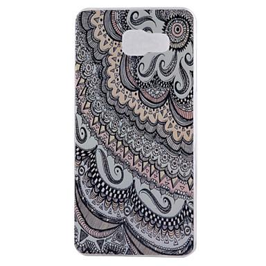 Mert Samsung Galaxy tok IMD Case Hátlap Case Álcázás Puha TPU Samsung A9(2016) / A7(2016) / A5(2016) / A3(2016)